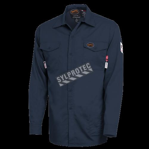 Safety shirt, FR-TECH 7 oz fireproof, small