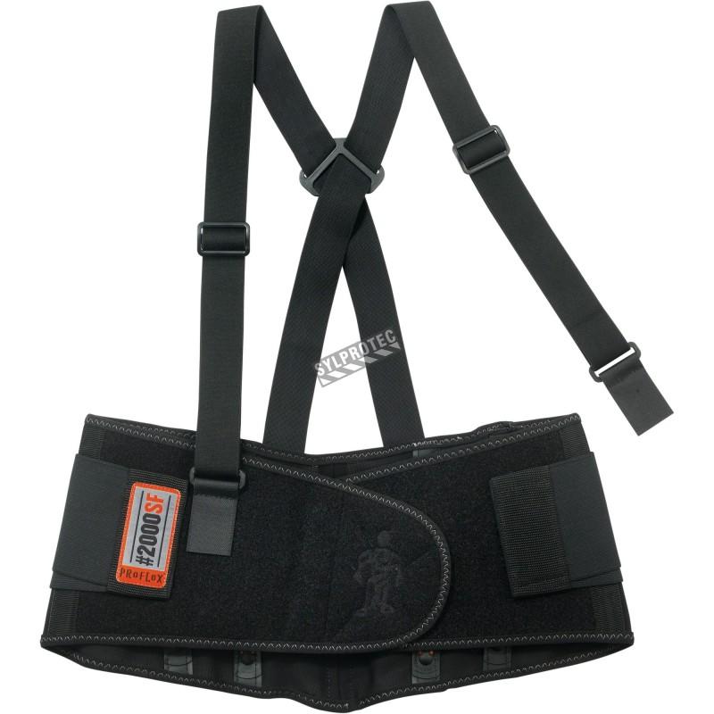 Back belt support