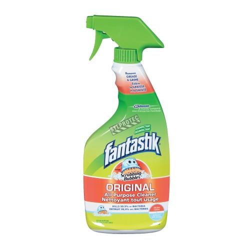 Nettoyant tout usage Lysol en vaporisateur 650 ml. Pour nettoyer les surfaces solides non poreuses.