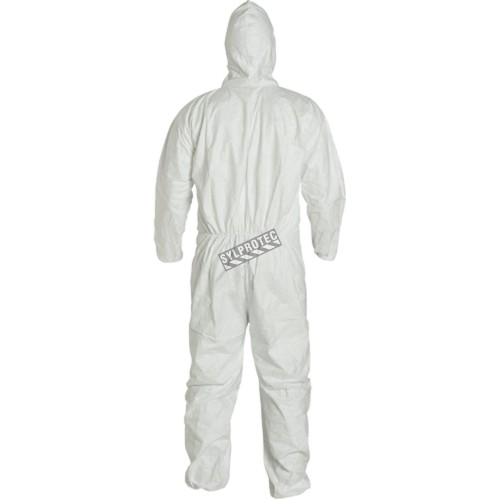 Disposable TYVEK coveralls with hood, box/25 unit