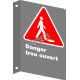 """French CSA """"Danger Open Hole"""" sign in various sizes, materials & languages + options"""