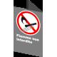 Affiche CSA «Flamme nue interdite» de langue française : formats variés, matériaux divers, d'autres langues & options