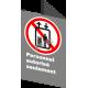 Affiche CSA «Personnel autorisé seulement» de langue française: formats variés, matériaux divers, d'autres langues & options