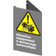 Affiche CSA «Attention équipement à démarrage automatique» en français: langues, formats & matériaux divers + options