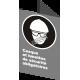 Affiche CSA «Casque et lunettes de sécurité obligatoires» en français: langues, formats & matériaux divers + options