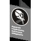 Affiche CSA «Appareil respiratoire autonome obligatoire» en français: langues, formats & matériaux divers + options
