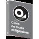 Affiche CSA «Cales de roues obligatoires» de langue française: langues, formats & matériaux variés + options