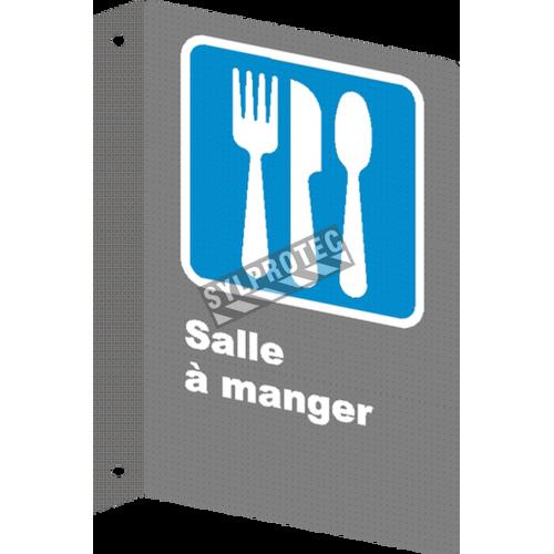 Affiche CSA «Salle à manger» de langue française: formats variés, matériaux divers, d'autres langues & options