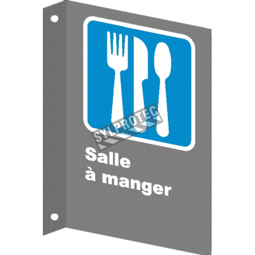 "French CSA ""Cafeteria"" sign in various sizes, shapes, materials & languages + optional features"