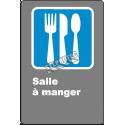 Affiche CDN«?Salle à manger» de langue française: formats variés, matériaux divers, d'autres langues & options