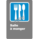 """French CDN """"Cafeteria"""" sign in various sizes, shapes, materials & languages + optional features"""