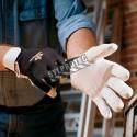 Gant antivibration AirGloves d'Impacto en cuir, en nylon avec des cellules d'uréthane remplies d'air. Vendu à la paire.