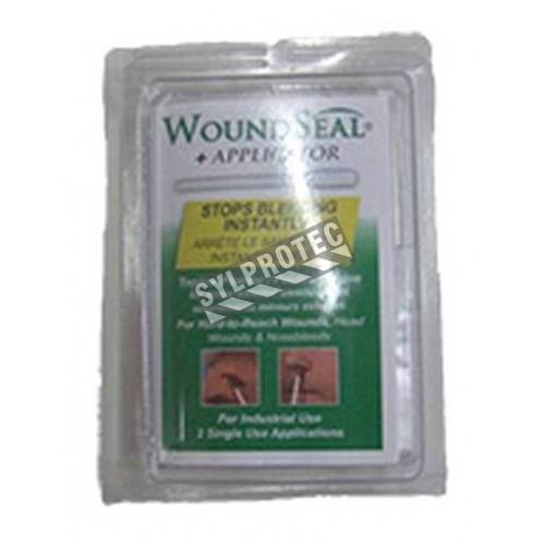 Poudre WoundSeal avec applicateur pour arrêter saignements externes mineurs