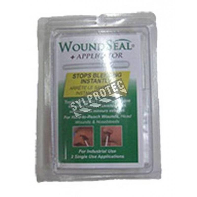 WoundSeal powder and applicator to stop minor external bleeding