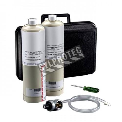 Ensemble de calibration pour calibrer le moniteur de monoxyde de carbone (CO) du panneau régulateur (256-02-01)