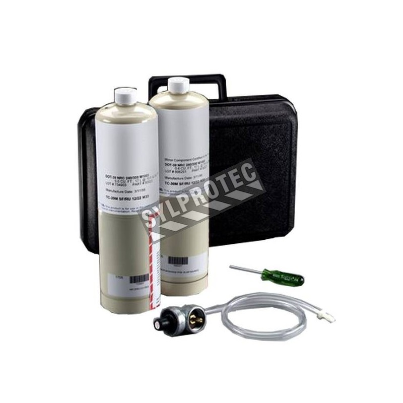 Calibration Kit for carbon monoxyde (CO) monitors Portable Compressed Air Filter and Regulator Panel 256-02-00, 256-02-01.