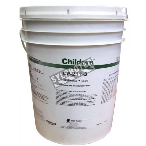 Childers CP211 blue encapsulation coating, 20 L (5 US gallons). Covers 200 square feet, for asbestos removal.