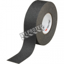Black non-slip adhesive warning tape for low-traffic areas, 1 inche x 60 feet.