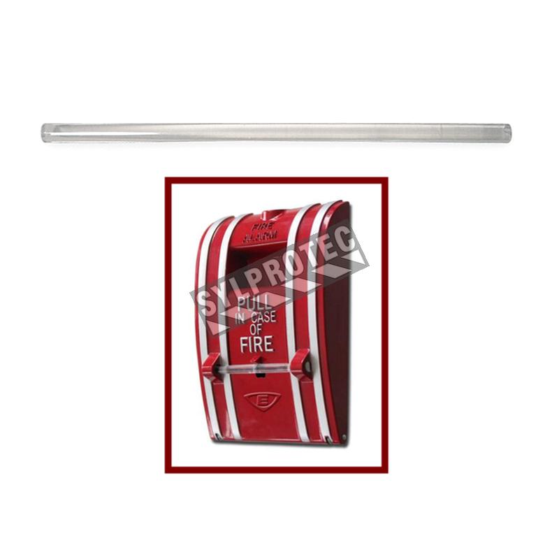 Tiges de verre cassables de remplacement pour station manuelle d'alarme d'incendie classique (ECST270), 12/pqt.