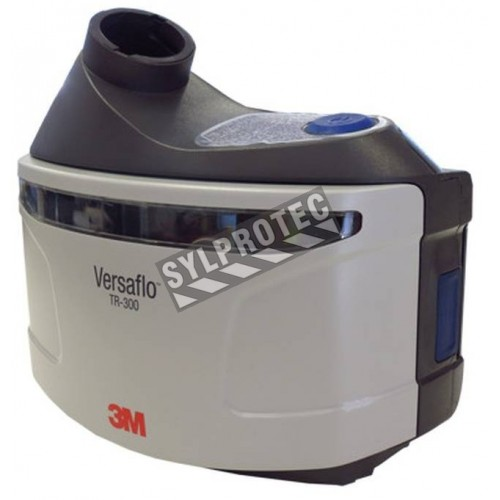 3M Versaflo unit for protection by powered air purifying respirator (PAPR). Filter cover and airflow indcator included.
