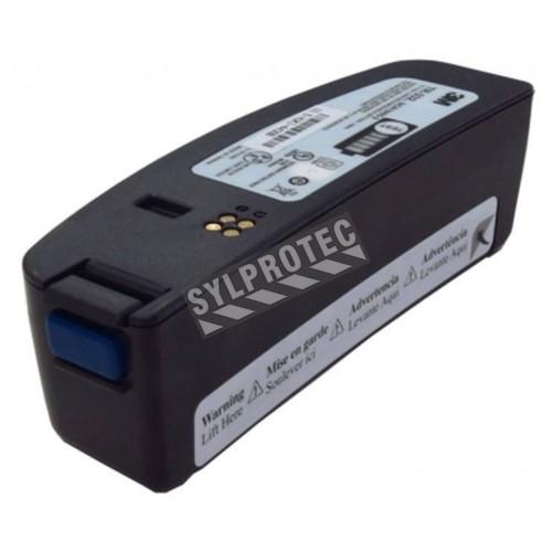 Batterie rechargeable de lithium-ion à grande capacité nominale par 3M. Batterie offrant une autonomie de 8 à 12 heures