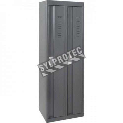 Double heavy-duty locker all-welded