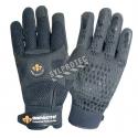Gants antivibrations AirGloves d'Impacto en suède synthétique à pois de silicone & bulles d'air en uréthane. Vendu à la paire.