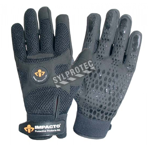 AirGlove anti-vibration gloves with air cells, certified ISO 10819 and ANSI S2.73.