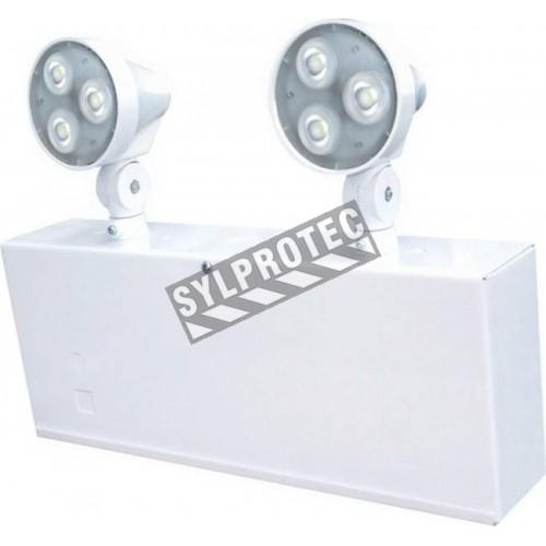 Unité d'éclairage 6 volts 36 watts avec 2 Led