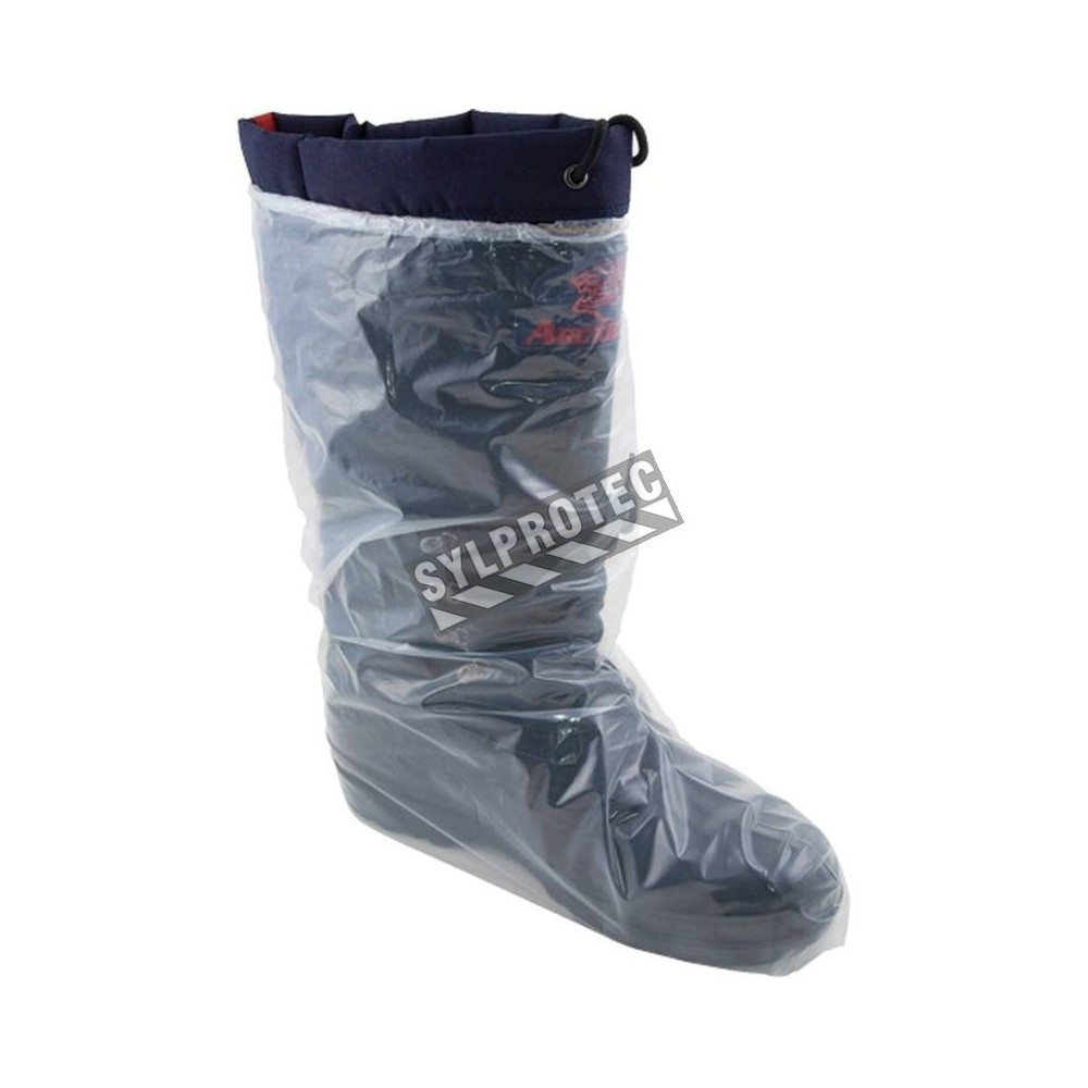 GROOMY Couvre-Chaussures jetables en Plastique Couvre-Chaussures de Bottes imperm/éables m/édicales de 100Pieces