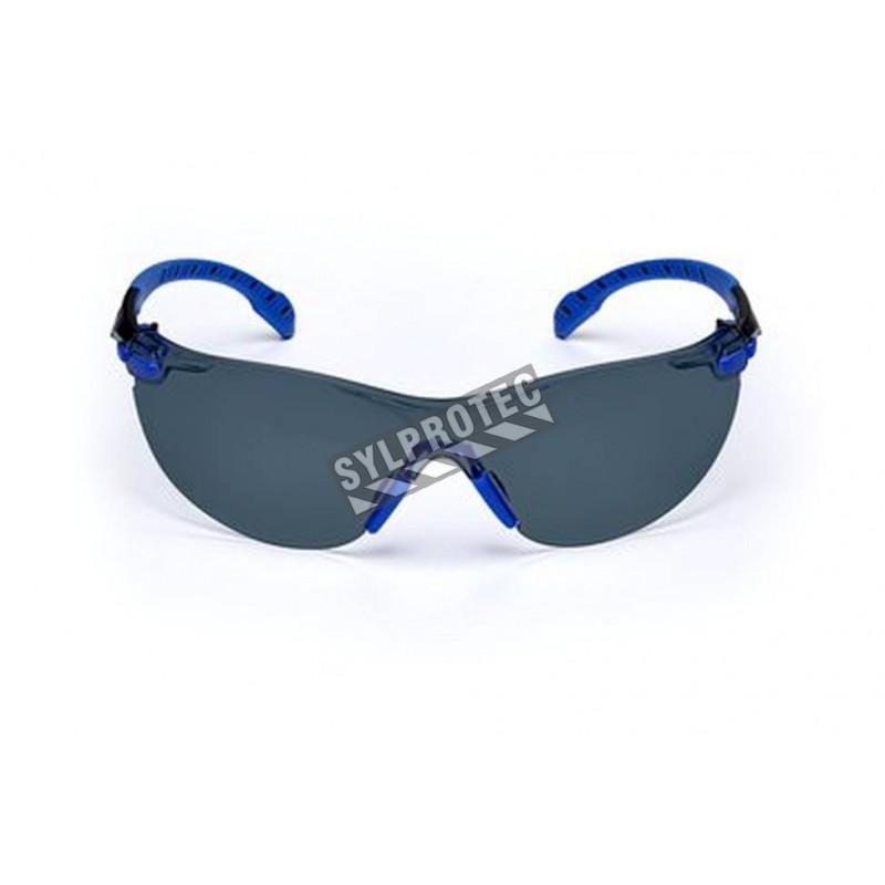 3M eyeglasse model Solus black/bleu frame, grey lens