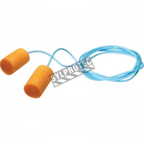 Bouchons Firmfit de Honeywell avec corde, 30 dB, boite de 100 paires.