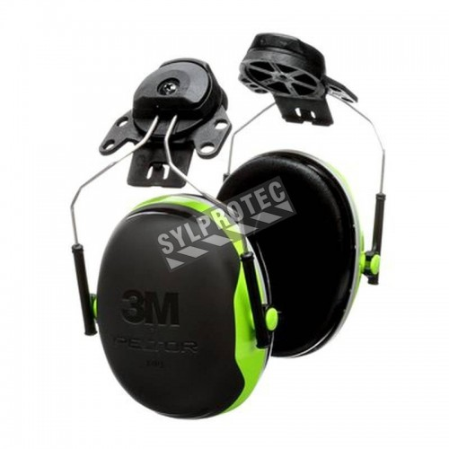 Coquille antibruit 3M modèle X4P3E pour casque de sécurité, 25 dB