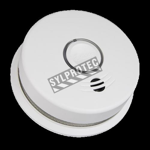 Détecteur de fumée photo électrique avec batterie au lithium 10 ans  possibilité d'être relier avec d'autres sans fils