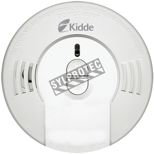 Ionization smoke detector with lithium battery last for 10 years