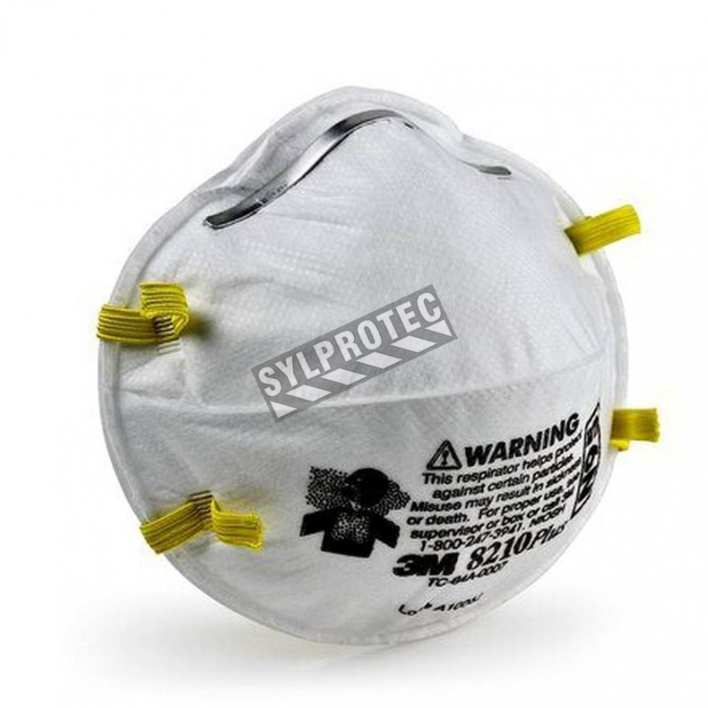 Cfr N95 Respirator Approved Model 42 Niosh 84 3m 8210 Particulate