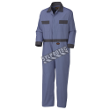 100 % cotton coveralls 8 oz whit 7 pockets,