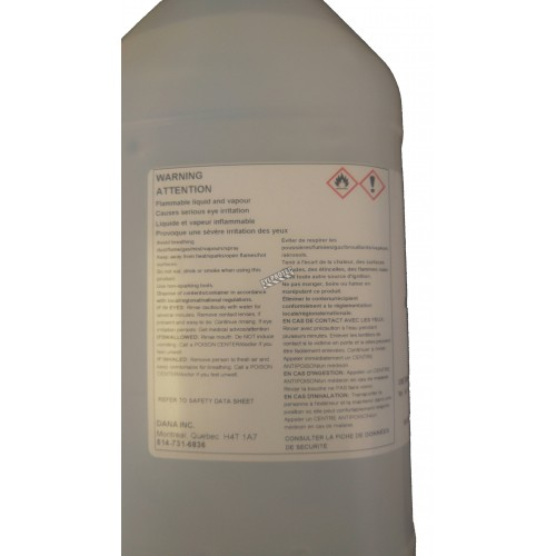 Dana-san alcohol-based gel hand sanitizer 4 litres, pump non included