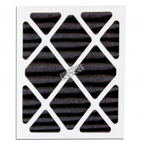 """Second stage optional filter for organic vapours on HEPA-AIREair (SAH5) 18""""X 24""""X 2"""" filter for particles 3 to 10 µm"""