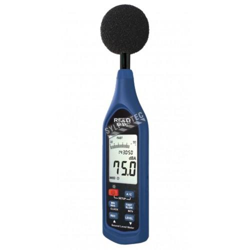 Sonomètre, trois gammes de 30 à 130 dB, type 1