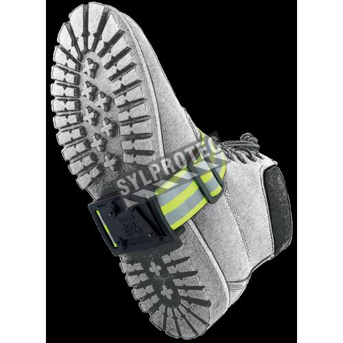 Crampons antidérapantes pour botte sans talon