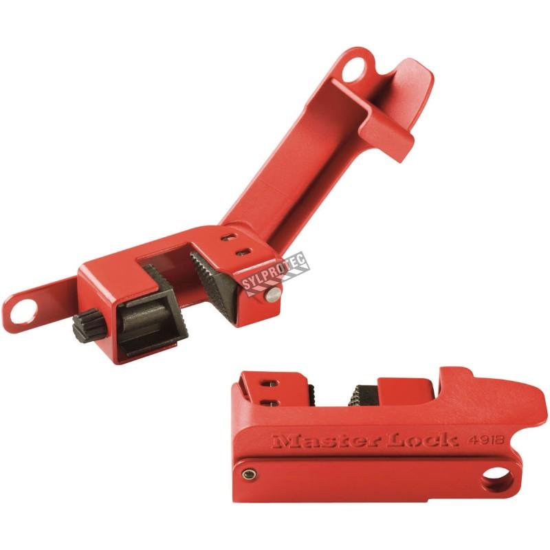 Verrou coupe-circuit pour disjoncteur longs et larges.Verrous spécialement conçu pour la plupart des disjoncteurs.