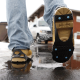Snow and ice traction aids, for all types of flat shoes and winter boots.
