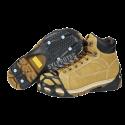 Crampons pour bottes d'hiver pour la neige et la glace pour tous les types de chaussures à talon plat