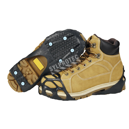 Semelles antidérapantes pour la neige et la glace, pour tous les types de chaussures à talon plat.