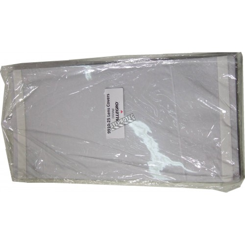 Clear peel-off compatible with Allegro Hood, RA9910, sold per 10 units.