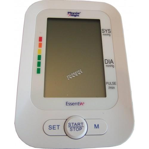 Sphygmomanomètre (tensiomètre) digital pour adultes Physiologic Prisma, avec grand écran lumineux et mémoire de 60 lectures.
