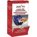 Cleaning wipe without alcohol for respiratory protection mask,100 units by box.