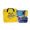Mini ensemble d'absorbants universels pour camionneurs, dans un sac refermable.