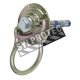 5K Swivel® zinc-plated permanent anchor with mounting hardware for fall protection on concrete structures.